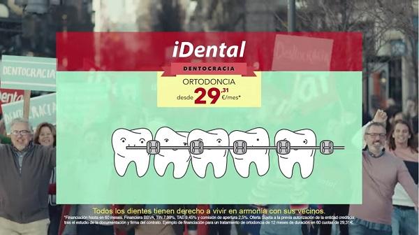 La asociación de consumidores en Zaragoza ACTORA Consumo consigue que iDental retire esta campaña publicitaria.