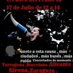 Cartel de la concentración en Madrid contra la estafa de iDental.
