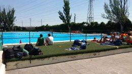 Las piscinas de Stadium Las Fuentes, ahora cerradas