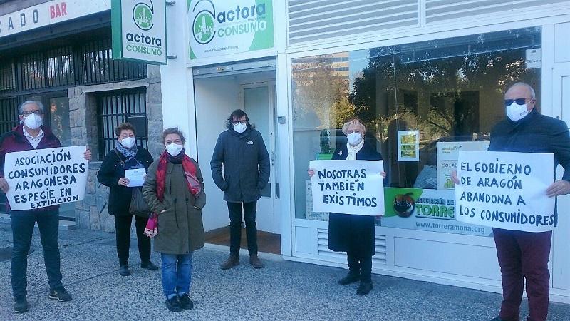 ACTORA Consumo exige al Gobierno de Aragón que desbloquee las ayudas a las asociaciones de consumidores